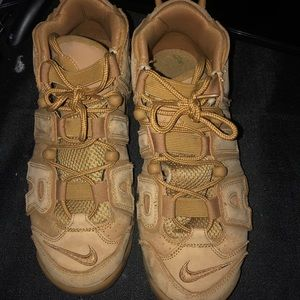 Brown Air nike sneakers.